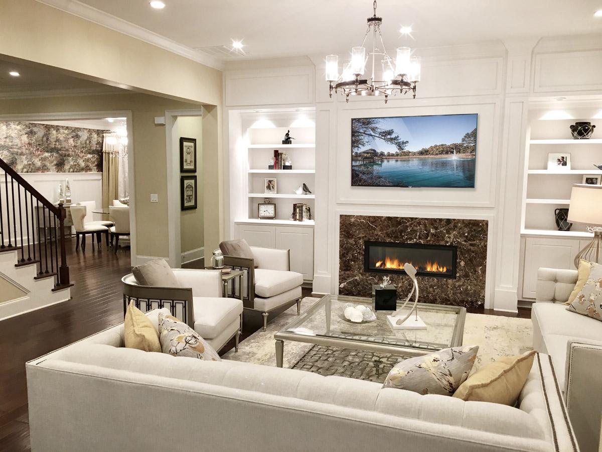 model homes suites by fdm designs atlanta georgia model home - Model Home Interior Design