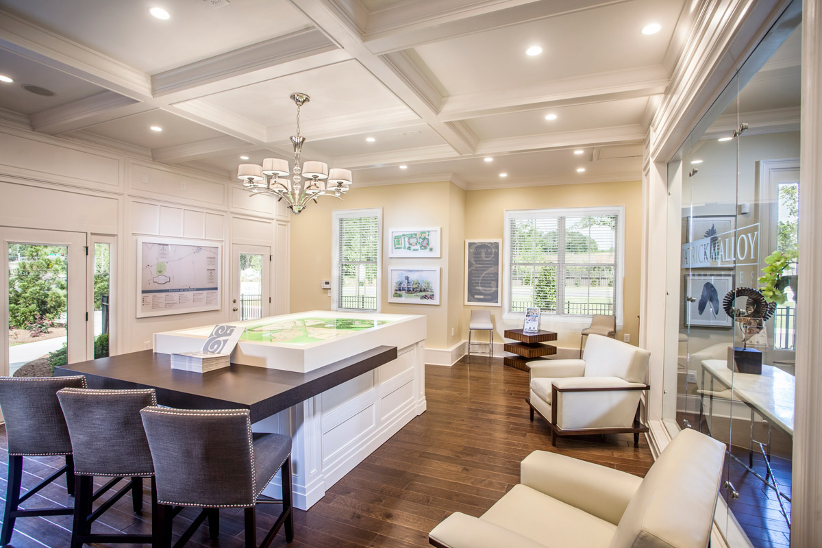 model homes suites by fdm designs atlanta georgia sales office