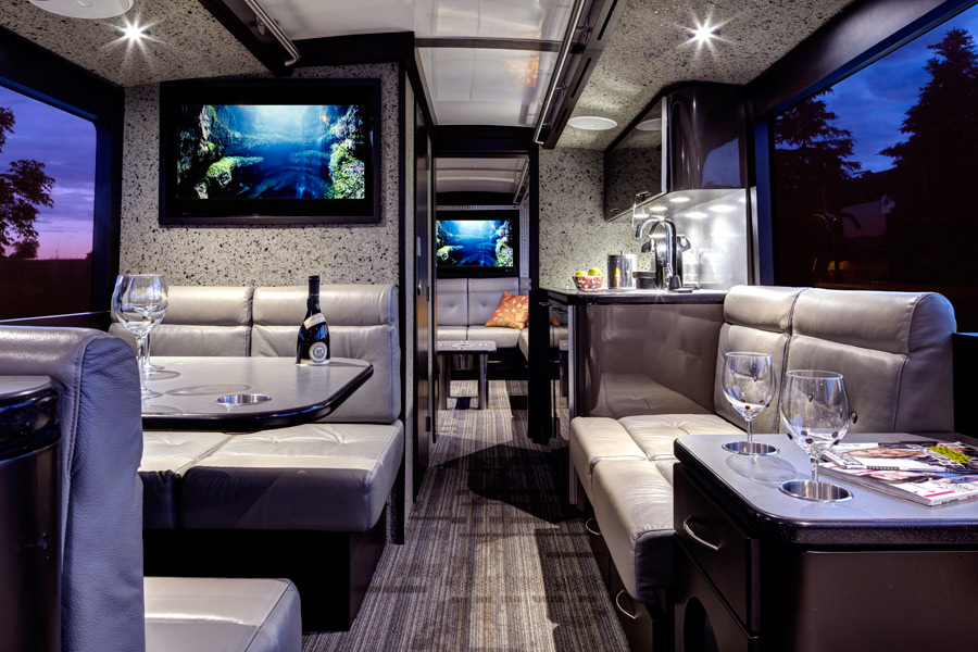 Specialty Projects By Fdm Designs Private Coach Bus