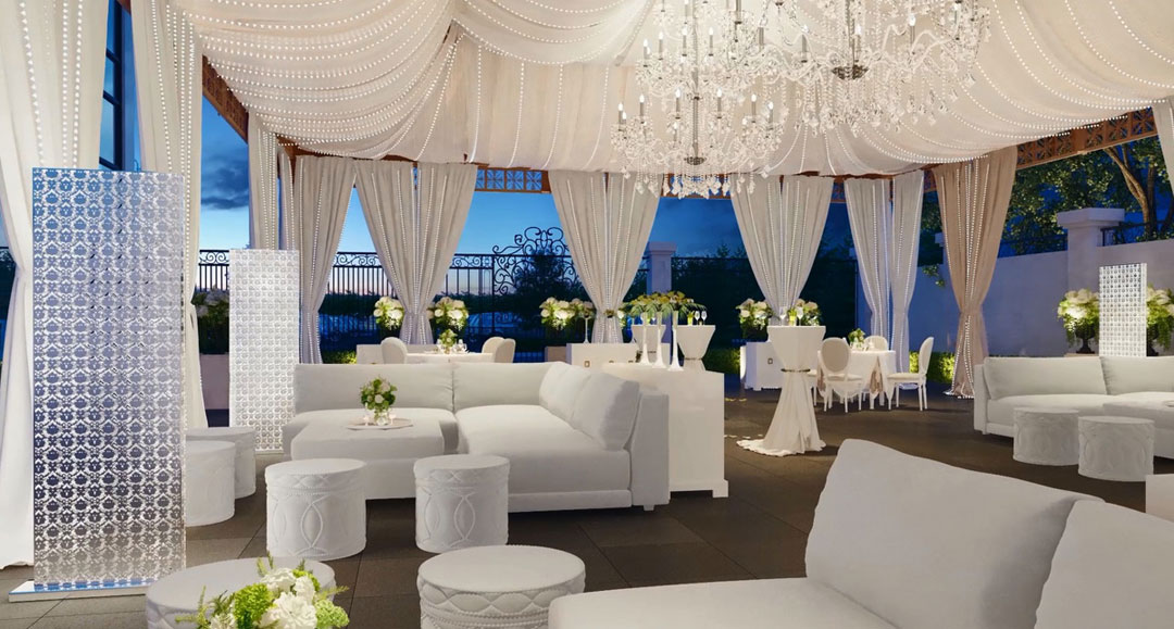 Luxury Residence By Fdm Designs Chateau Le Parc Banquette Hall