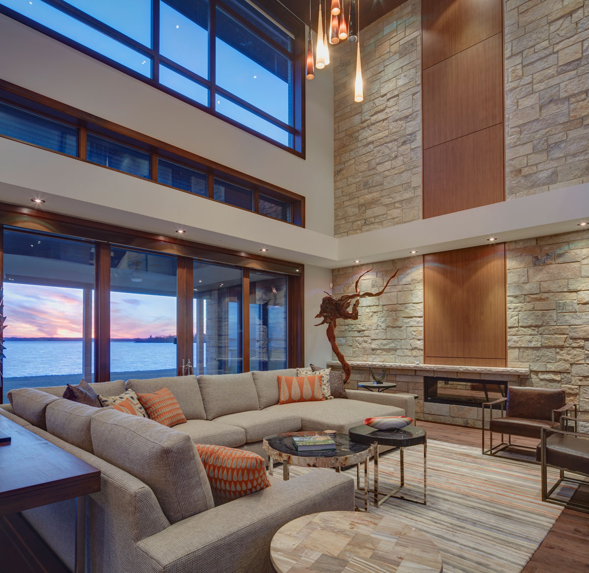 Luxury Home Lake Maine: Luxury Residence By FDM Designs