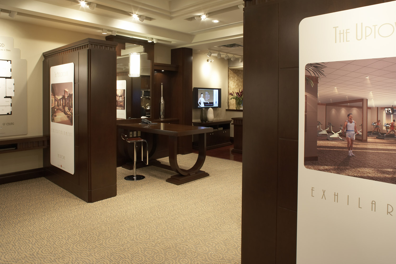 Sales Office Interior Design by FDM Designs - Flora Di Menna Inc.